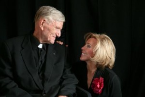 Rev. John Stout and Author, Carol Mersch